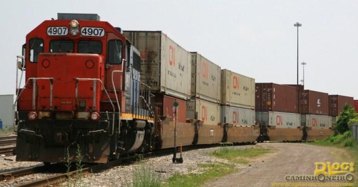 trem container