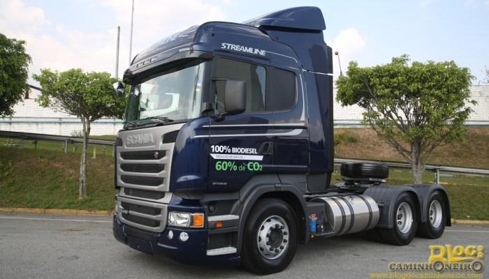 Scania Streamline Biodiesel