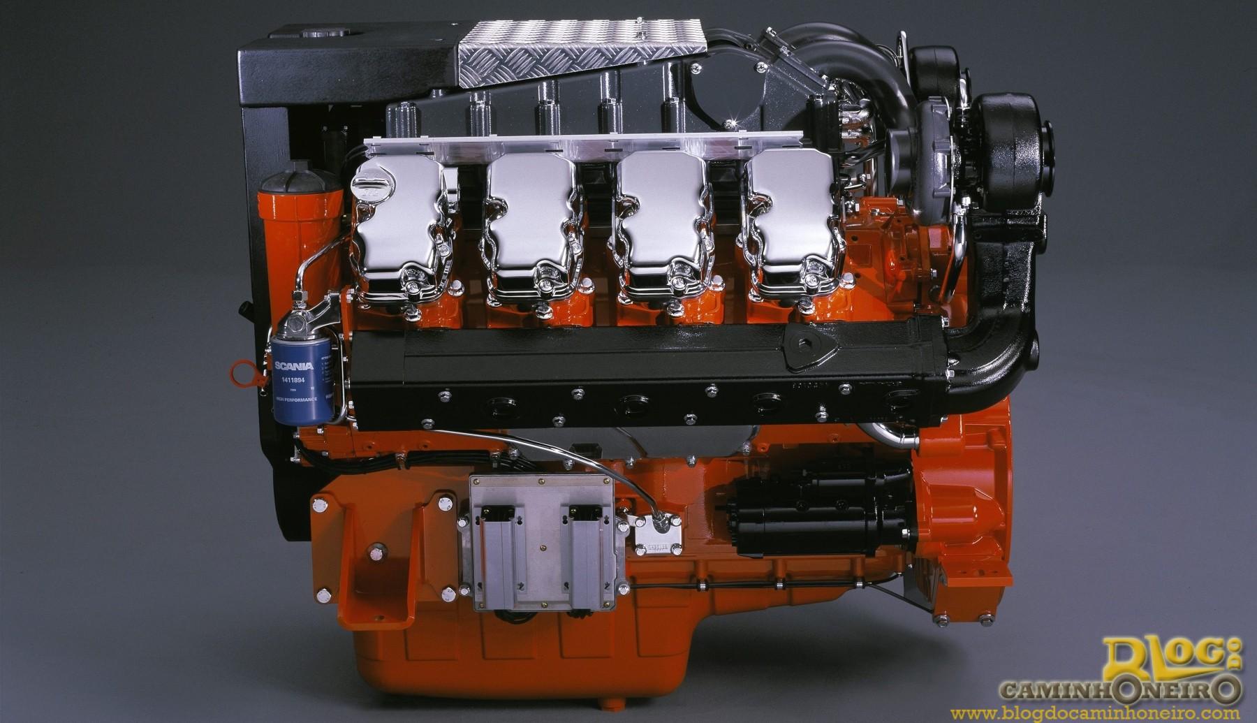 Scania Lan A Motor V8 Com Cv Blog Do Caminhoneiro