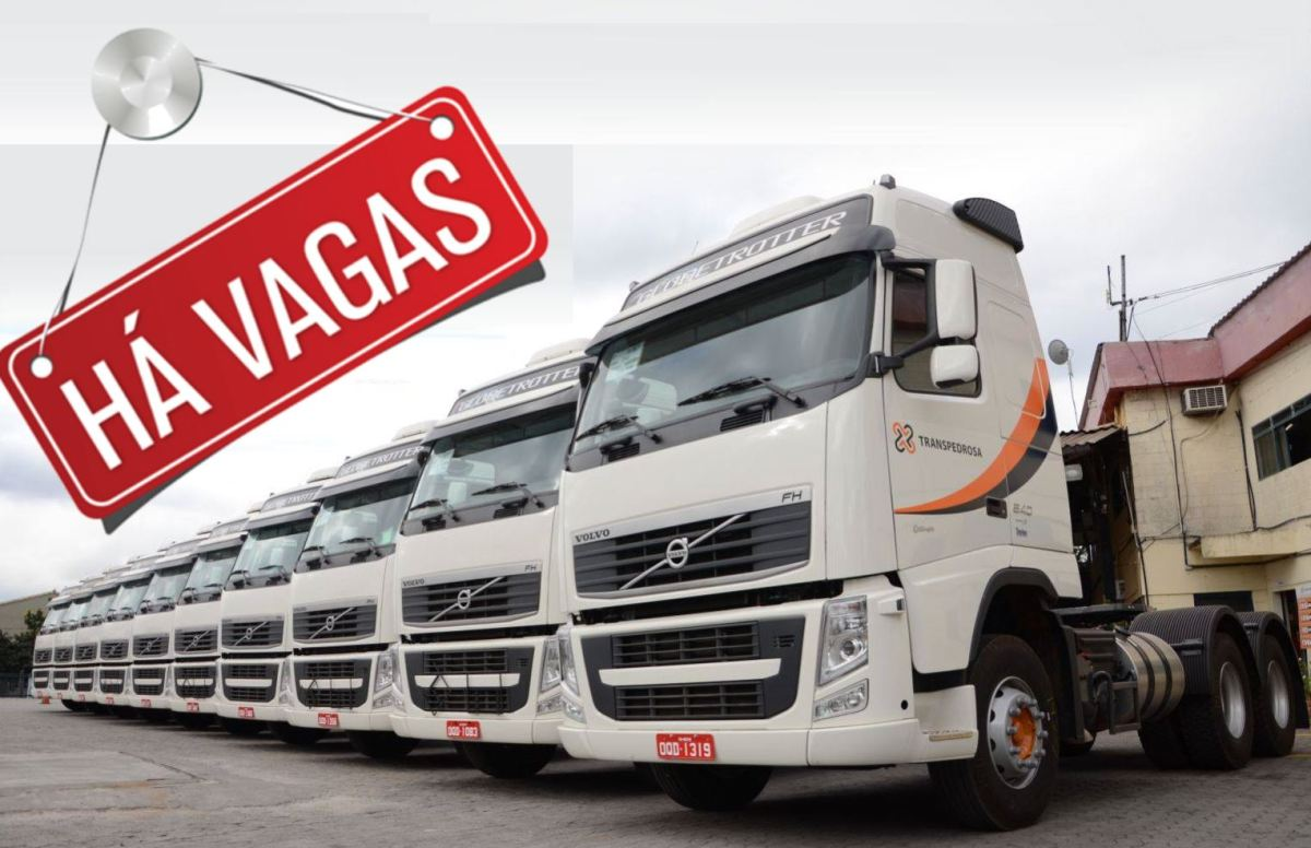 Transpedrosa tem vagas para Motorista Carreteiro em Betim-MG