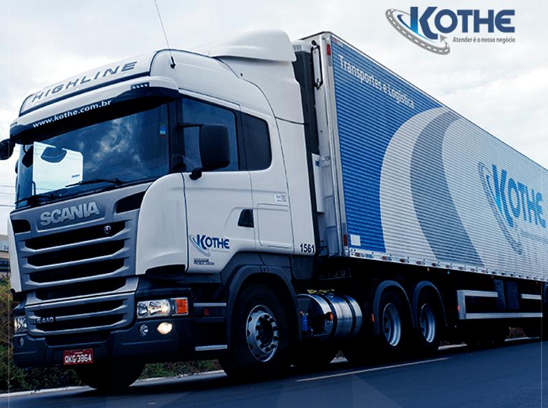Kothe Transportes abre novas vagas para motoristas nas regiões Norte, Nordeste e Sudeste
