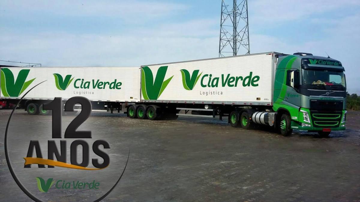 Cia Verde Logística tem vagas para motoristas carreteiros e outras funções