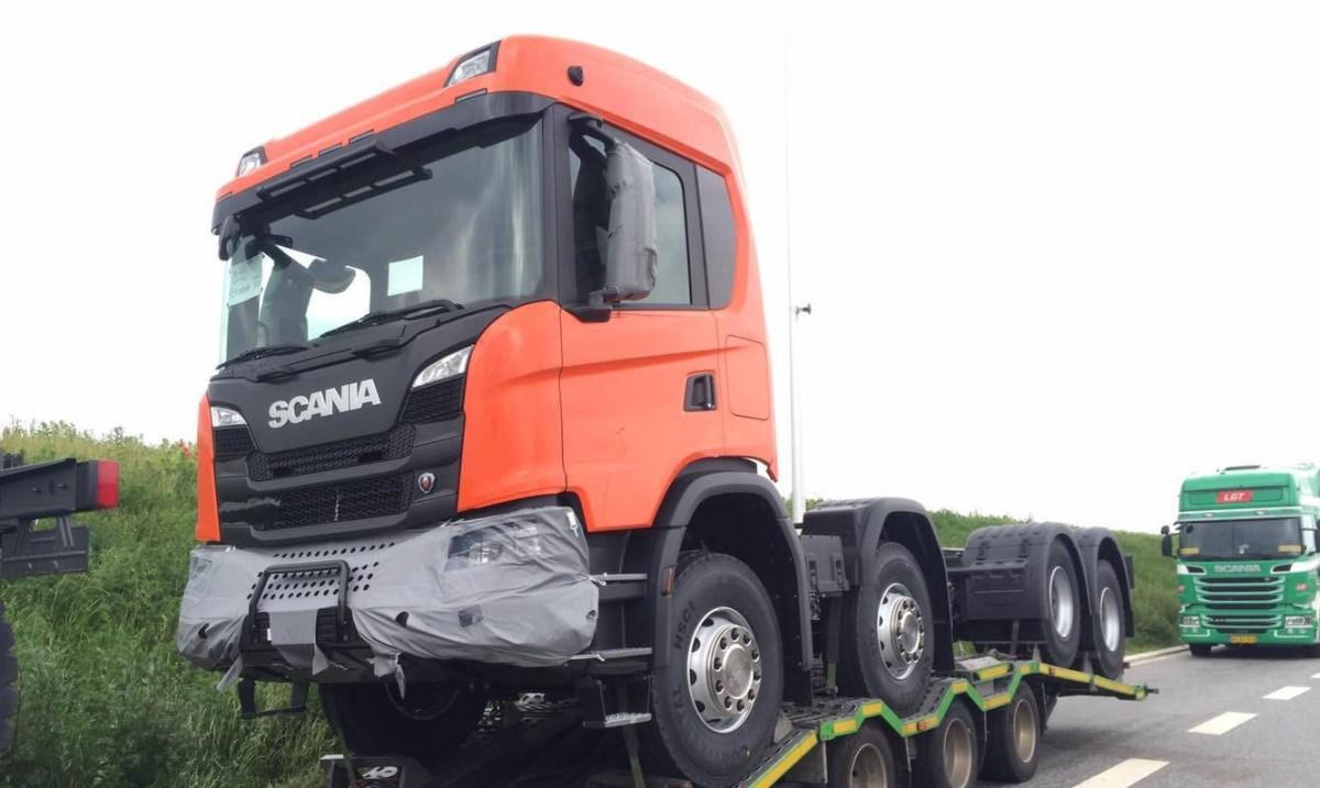 Scania vai apresentar nova linha fora-de-estrada no dia 04/09