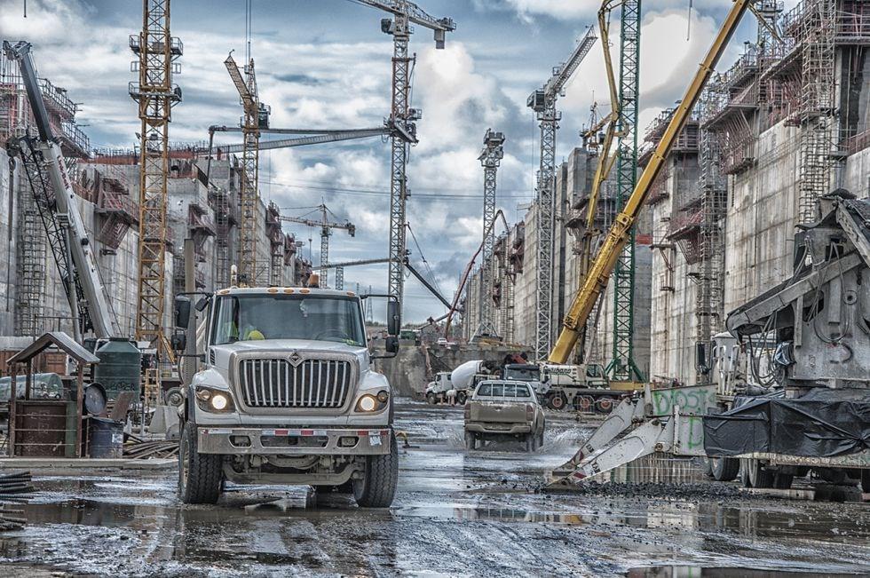 Mais de mil equipamentos utilizados no projeto de ampliação do Canal do Panamá serão leiloados