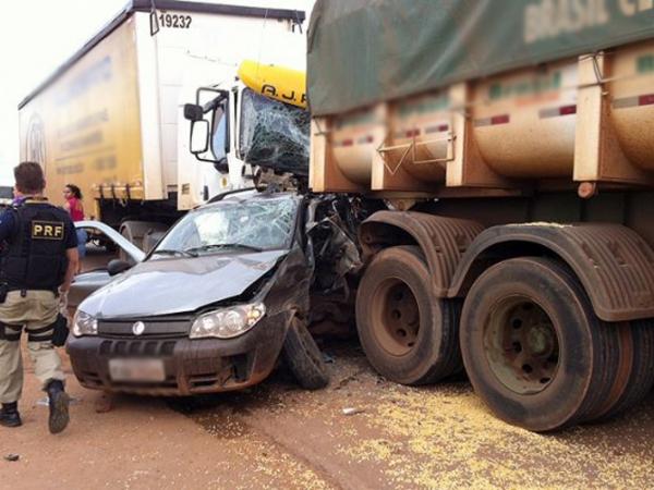 """Tribunal mantém condenação de motorista de carreta que """"prensou"""" carro e causou morte em Sinop"""