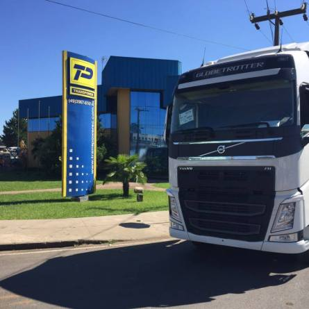 Transpower abre novas vagas para motoristas carreteiros em Caçador-SC