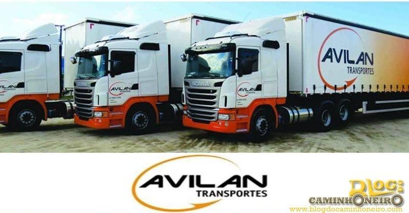 Avilan Transportes abre 36 vagas para motoristas carreteiros em Viamão-RS