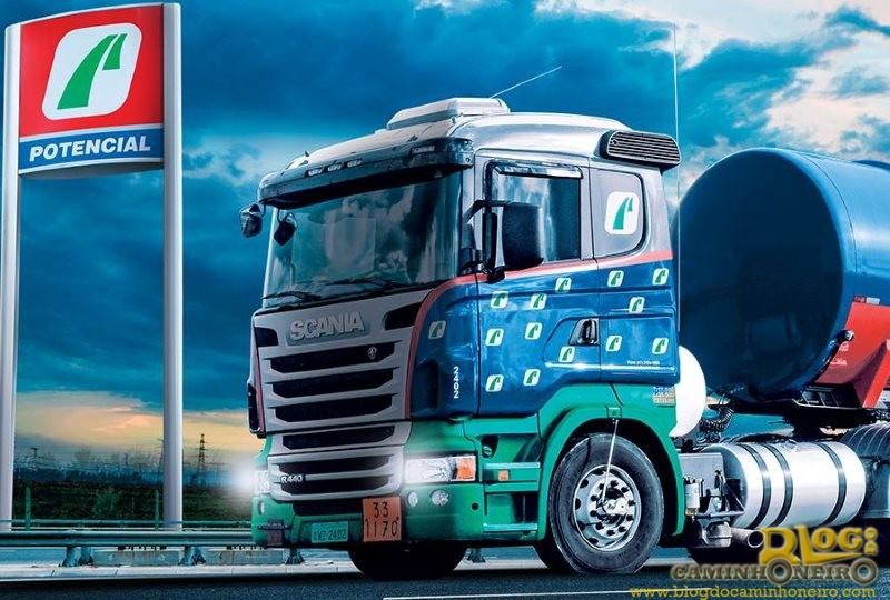 Potencial Petróleo tem vagas para motoristas truck em quatro estados