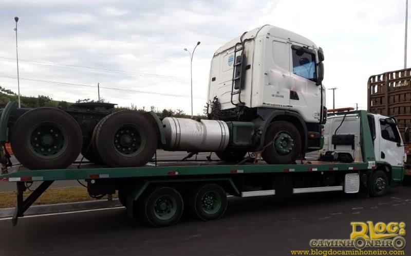 PRF flagra mais de 12 mil quilos de excesso de peso em Campos Novos-SC