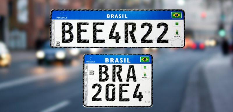 Bolsonaro pode acabar com as placas Mercosul