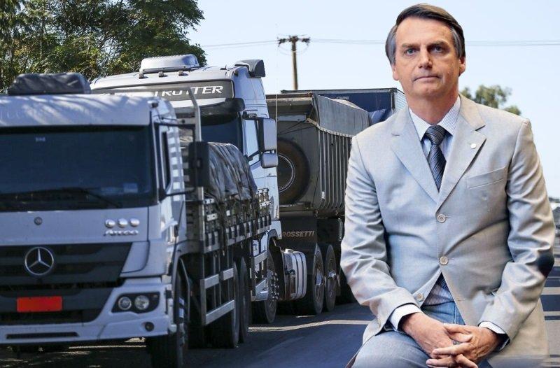 Equipe de Bolsonaro já discute nova tabela de frete para evitar greve de caminhoneiros