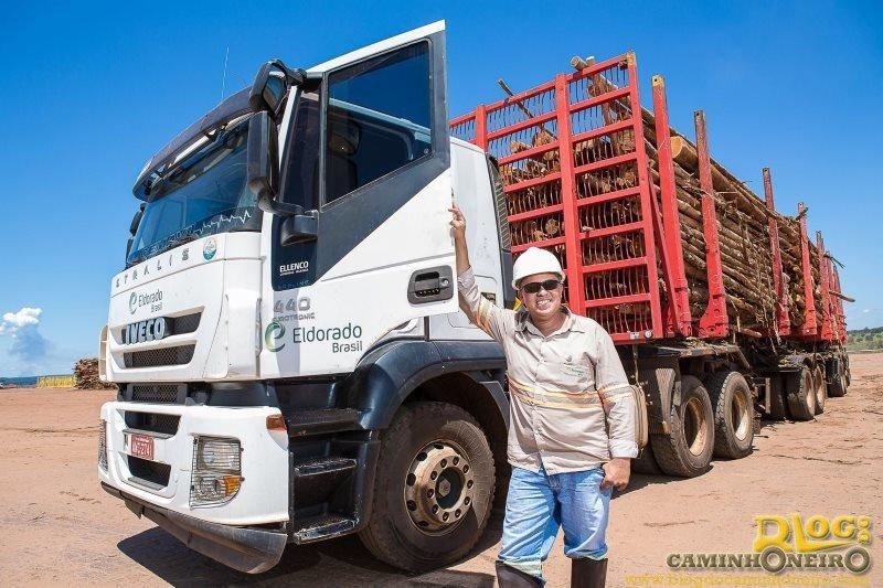 Eldorado Brasil tem 154 vagas para motoristas carreteiros tritrem