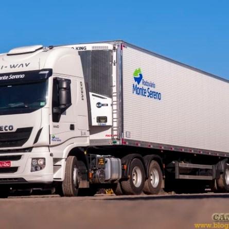 Rodoviário Monte Sereno tem vagas para motoristas truck e carreteiros