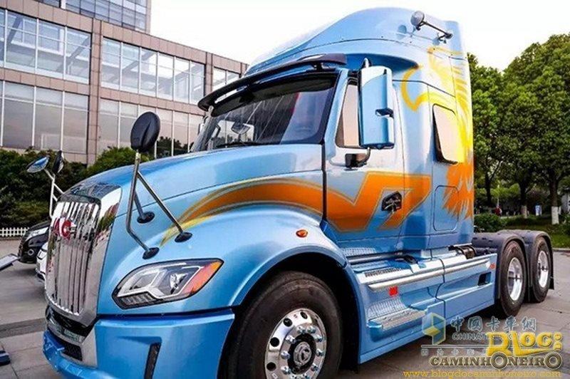 """JAC apresenta caminhão """"inspirado"""" em modelo americano"""