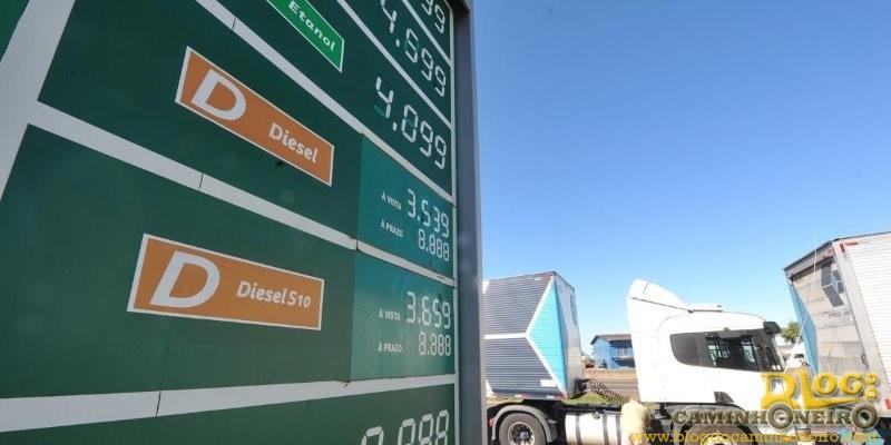 Preço do diesel aumenta pelo quarto mês consecutivo