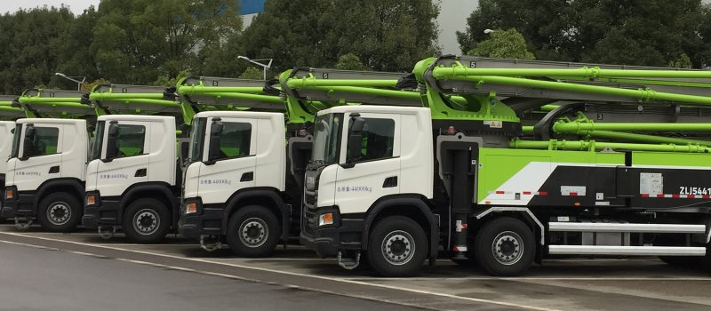 Empresa compra 520 caminhões Scania para bombas de concreto