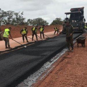 Faltam apenas três quilômetros para finalizar a pavimentação da BR-163/PA