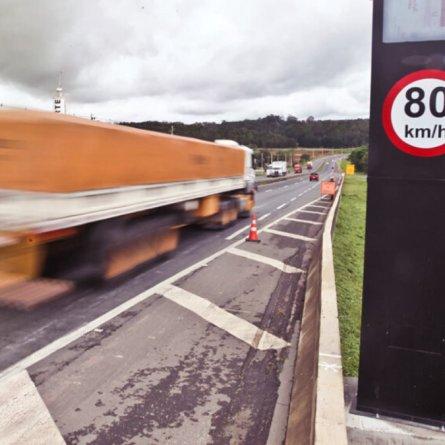 Flagrado em excesso de velocidade superior a 50% terá suspensão imediata do direito de dirigir