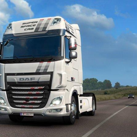 Série Especial DAF XF Unity chega ao Euro Truck Simulator 2