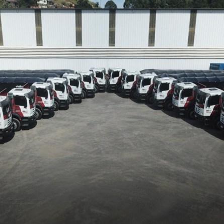Açotel compra 14 caminhões Volkswagen no Rio de Janeiro