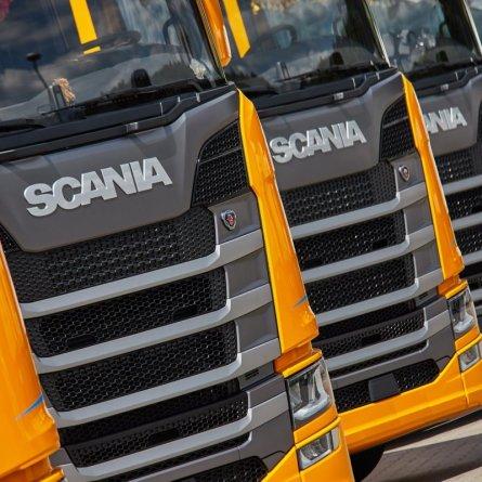 Vendas de caminhões sobem 8% em julho