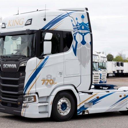 Transportadora francesa é a primeira a adquirir um Scania com 770 cavalos de potência