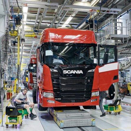 Scania vai iniciar produção de caminhões na China
