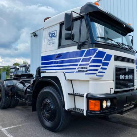 Lote de 20 caminhões MAN Zero KM fabricados em 1994 é colocado a venda na Europa