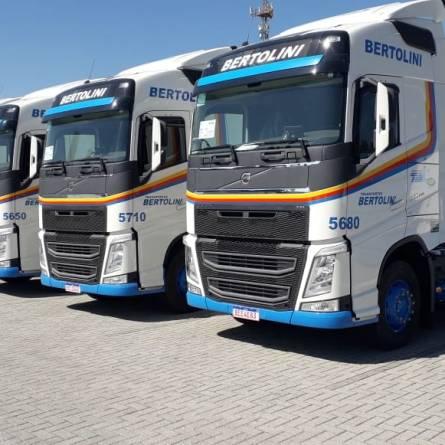 Transportes Bertolini tem vagas para motoristas carreteiros no Rio Grande do Sul