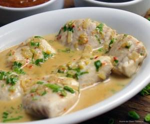 Peixe à moda Thai