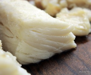 Como escaldar o bacalhau