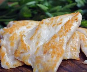 Filé de frango na manteiga ghee