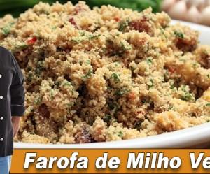 Farofa de Milho Verde - Thumbnail Youtube