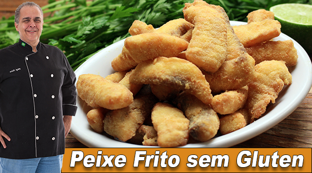 Peixe Frito sem Glúten - Thumbnail Youtube