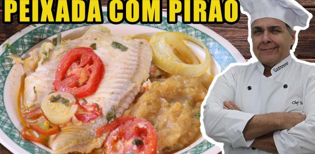 Peixada com Pirão