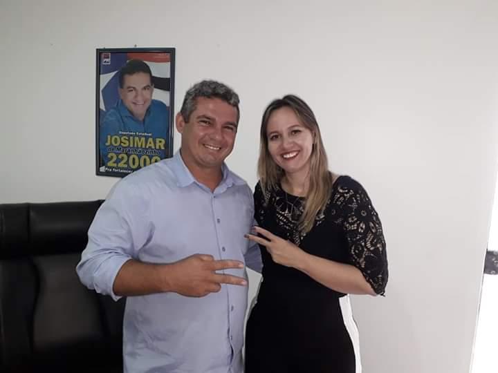 A pedido do empresário Gean Freitas deputada estadual Detinha solicita implantação de uma torre de telefonia móvel no povoado Bom Viver/Pinheiro