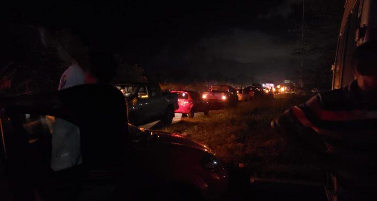Índios bloqueiam BR-316 entre Bom Jardim e Santa Inês
