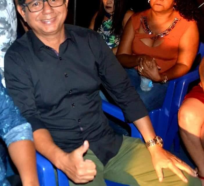 Vice-prefeito Gonzaga Ferraz prestigia abertura do arraial frevo do povo em Turilândia/MA