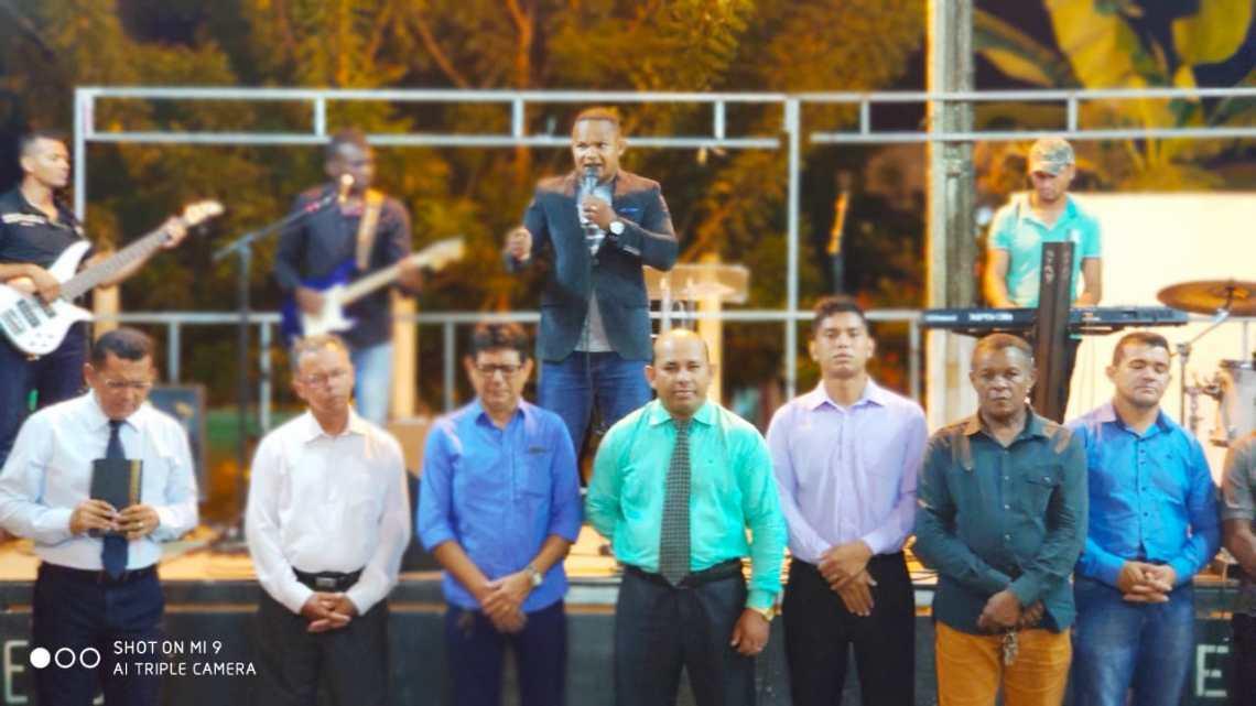 Vice-prefeito Gonzaga Ferraz participa de programação alusiva ao dia municipal do evangélico em Turilândia/MA