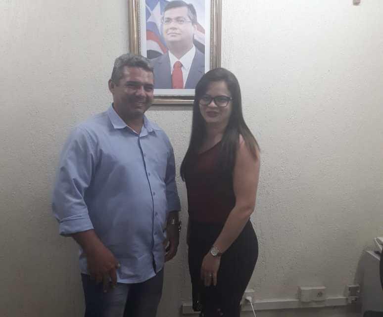 Empresário Gean Freitas reúne com a secretária de Agricultura, Pecuária e Pesca do Maranhão e solicita benefícios para a região de Pinheiro