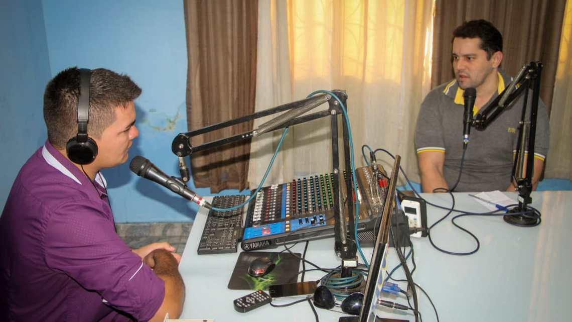 Durante entrevista vereador Guto reafirma aliança com Dr Leonardo Sá para as eleições 2020 em Pinheiro