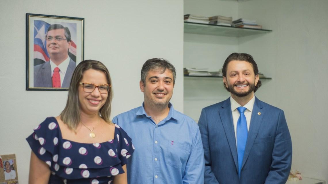 Deputado Leonardo Sá reúne-se com gestores da Agerp na capital maranhense