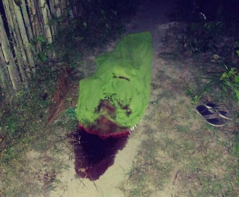 Urgente – Homem é assassinado na madrugada desta sexta-feira (16) no povoado Três Marias / Peri-Mirim