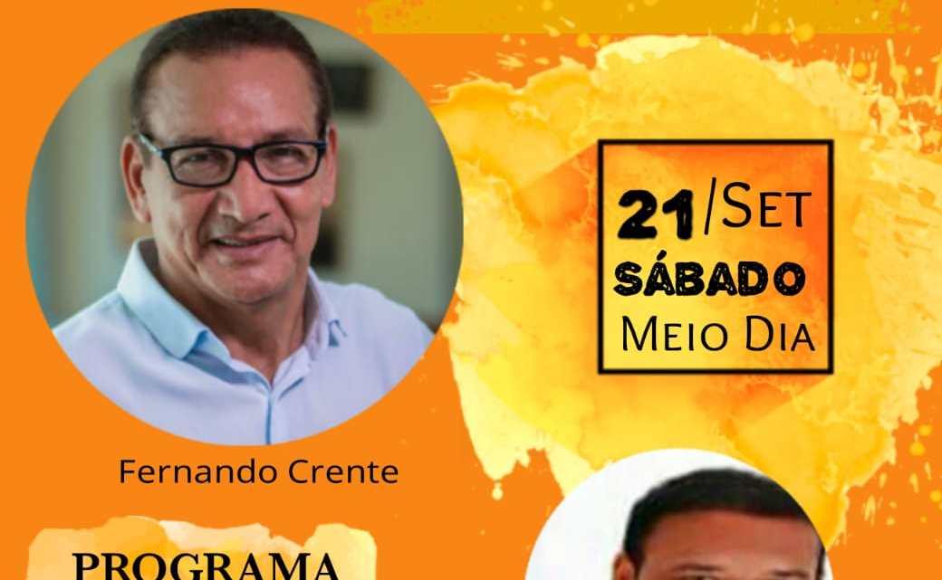 Santa Helena / Ex-vice-prefeito Fernando Crente concede entrevista à TV sucesso neste sábado (21)