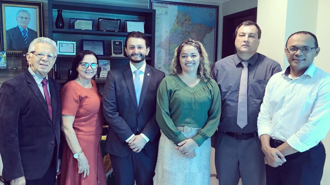 Deputado Dr. Leonardo Sá reúne-se com Presidente da CEADEMA na capital maranhense