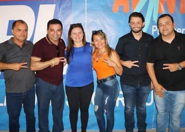 Leonardo Sá participa de novas filiações do PL ao lado de deputados no Maranhão