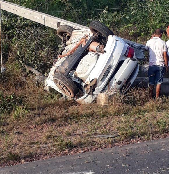 Urgente – Grave acidente é registrado próximo ao município de Serrano do Maranhão, há relatos de vítima fatal