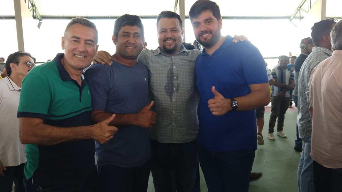 Em reunião com o secretário Clayton Noleto e o deputado Marreca Filho, Toca Serra solicita recuperação da MA-006