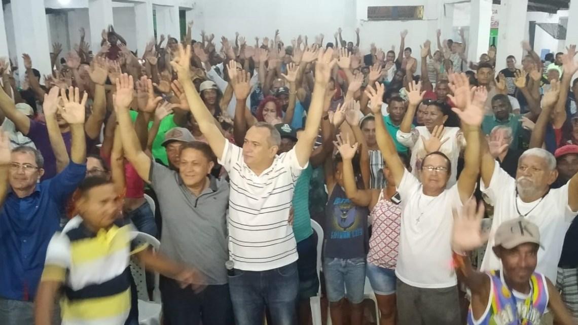 Reinaldinho é lançado como pré-candidato a vice de Dino Penha em São Bento