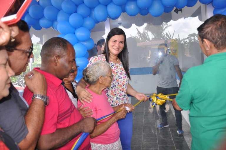 Presidente Sarney- Prefeitura inaugura nova Unidade Básica de Saúde no povoado São Felipe